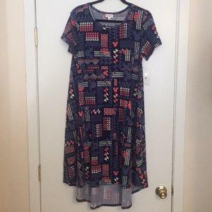 S LuLaRoe Carly Dress Disney BB11 874